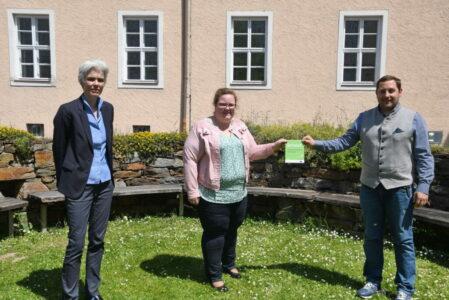 Green Care Lernort-Plakette Warth-PA Copyright Jürgen Mück