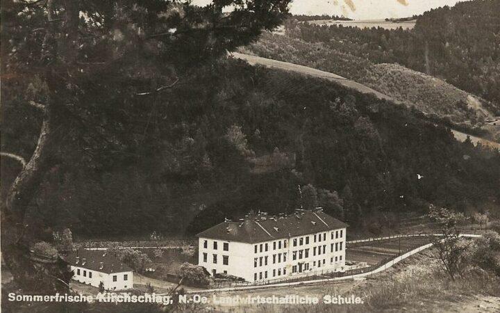 Kirchschlag von 1924 bis 1941