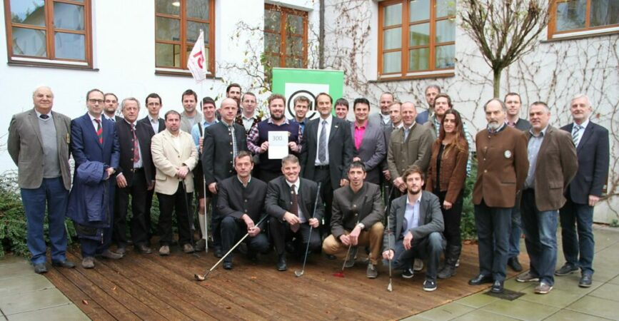 Jubiläum 25 Jahre Gründung der Greenkeeperakademie (02.12.1989)